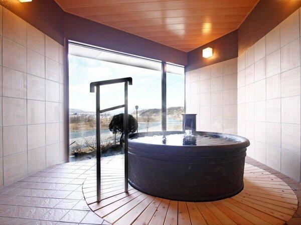 2014年3月新設オープン貸切風呂「桜の湯」