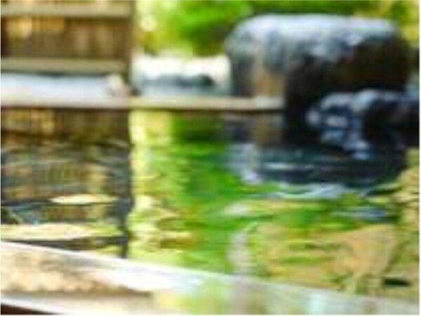 【温泉】純和風温泉露天風呂
