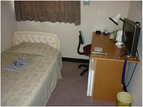シングルルームの一例です。