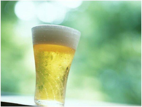 【ドリンク(夕・朝食)】「冷え冷えの生ビール」夏はこれがたまりません!!
