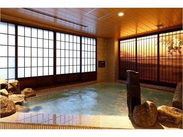 ◆天然温泉大浴場 内湯【女性】