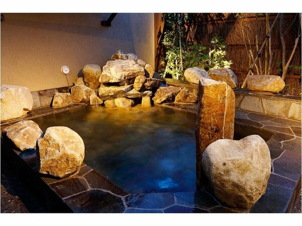 ◆天然温泉大浴場 露天風呂【女性】