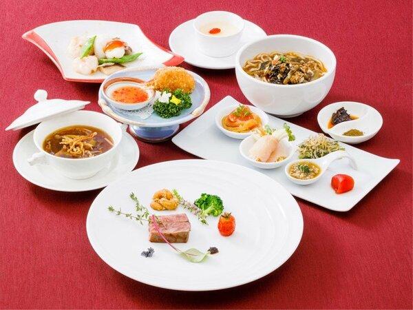 【Jフロアー限定・夕朝食付プラン】信州食材をふんだんに使用した人気のコース料理
