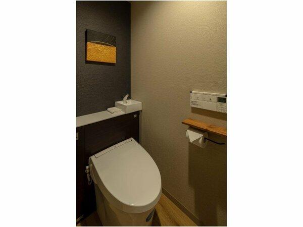 客室内のトイレになります。