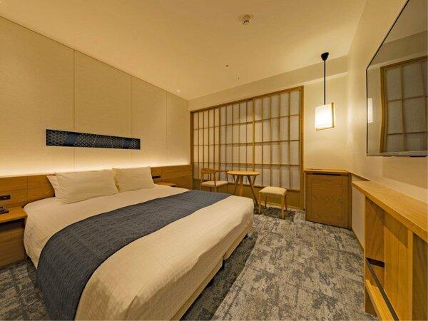 *【コンフォートダブル(イメージ)】大きめのベッドに、2名までご宿泊いただけます。