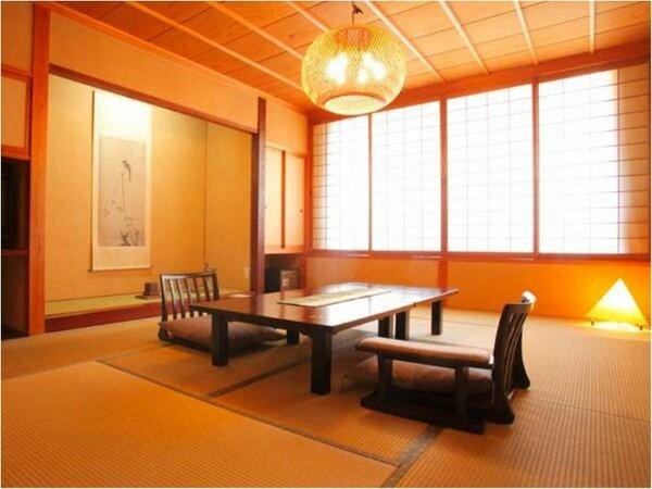 【一般客室:和室12畳】12畳の和室一間のスタンダードなタイプ。