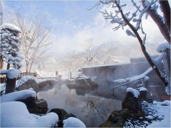 【冬】大浴場露天風呂