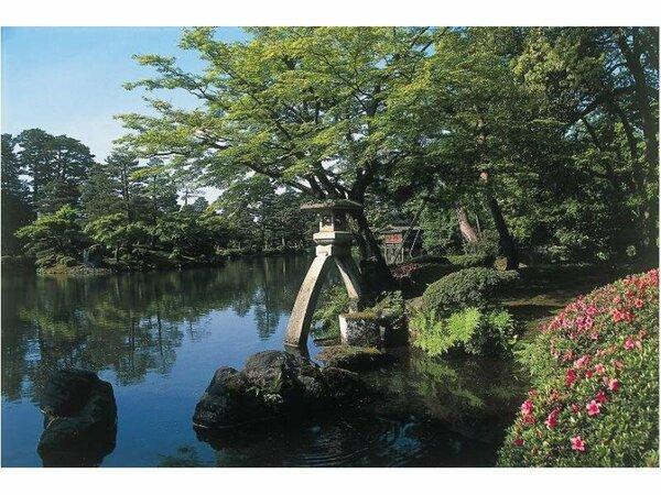 【兼六園】~偕楽園・後楽園とならぶ「日本三名園」のひとつ~