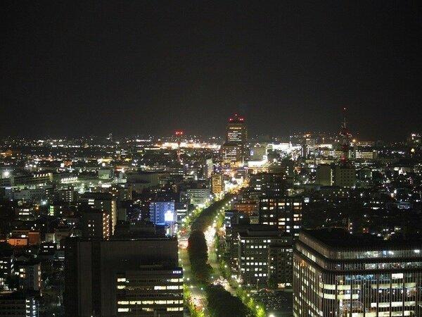 金沢駅側のお部屋からの眺め(イメージ)