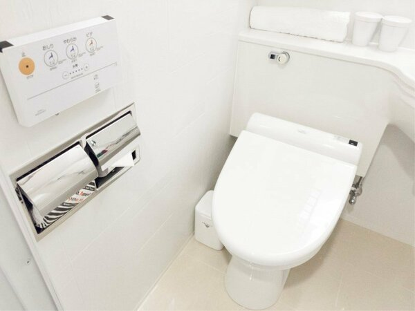 【温水洗浄便座】全ての客室にご用意しております。
