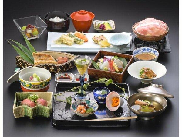 料理の一例(イメージ)四季彩々会席