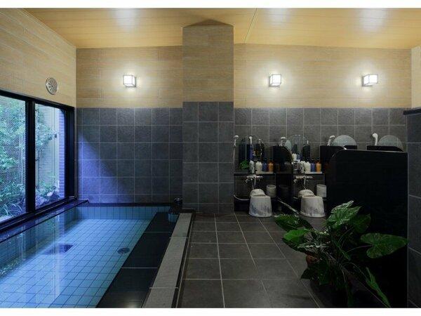 疲れをときほぐすラジウム人工温泉大浴場「旅人の湯」 15:00-2:00 / 5:00-10:00