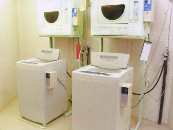 *[ランドリー]洗濯機(滞在中のお洗濯もOK♪)