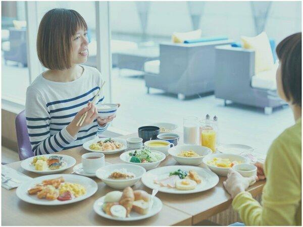 当日選べるご朝食で充実した一日を