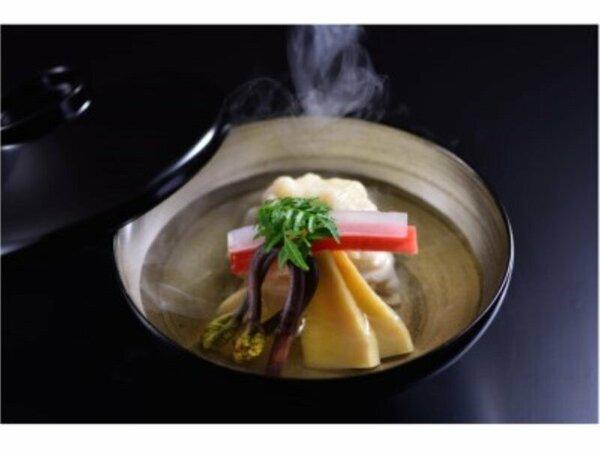 相田料理長のこだわりの一品 食感もお楽しみ頂けます。