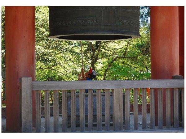 延暦寺鐘楼(除夜の鐘として有名です)