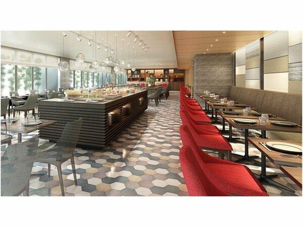 【3F レストラン】営業時間 7:00-10:00(ラストオーダー 9:30) ※イメージ