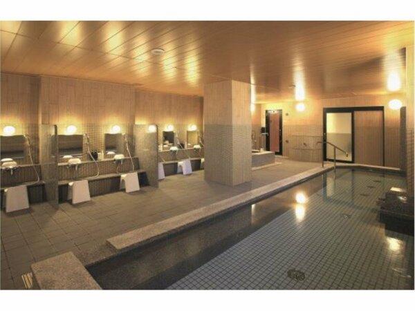 新館の2階に、サウナを併設した大浴場がオープン。