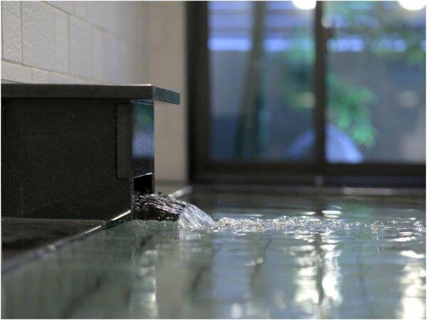 【大浴場】最高の朝をお届けするホテルインターゲートのおもてなし。柔らかな光に包まれる朝風呂もオススメ