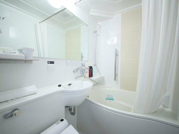 【たまご型ユニットバス】ゆったりとご入浴いただけます。