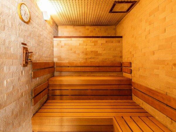 女性大浴場 サウナ