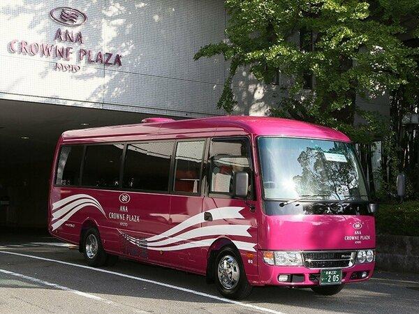 京都駅とホテルを結ぶシャトルバス