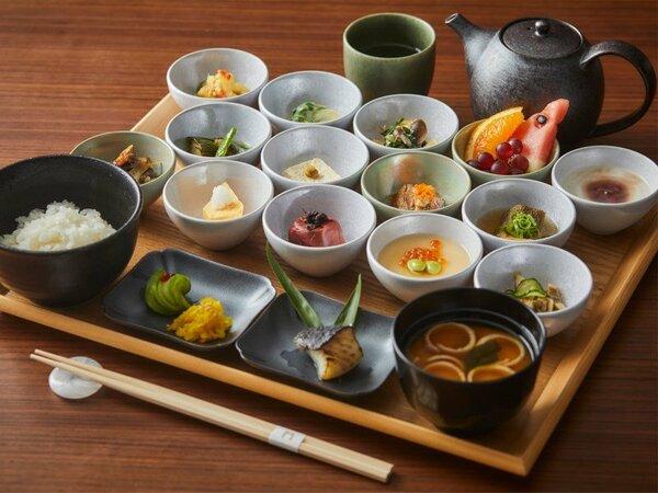 朝食メニュー(和食膳) 1日限定30食のご用意です