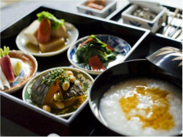 【京懐石・螢】 朝食イメージ画像 -和定食 朝げ・朝がゆをお選びいただけます。-