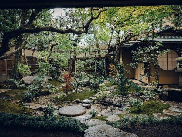 庭園:季節によって表情を変えていく日本庭園をお楽しみください。
