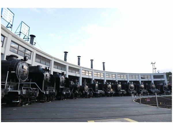 扇形車庫(提供:京都鉄道博物館)