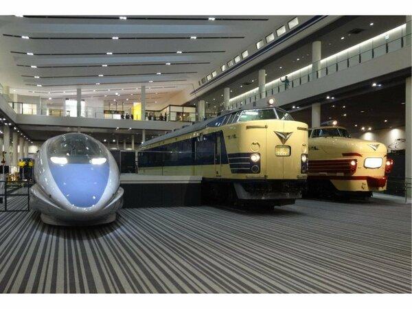 本館3車両(提供:京都鉄道博物館)