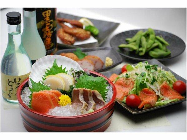 食・呑み処 和み(なごみ)夕食18:00~22:00 ラストオーダー21:30 定休日:日・祝日