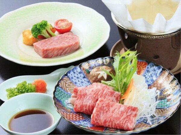 山形牛ステーキ&米沢牛しゃぶしゃぶ