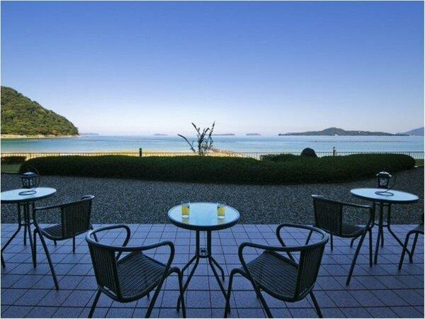 リゾートホテル美萩が自信をもって贈る、海が奏でる絶景のおもてなし。海景色に見惚れて下さい(イメージ)