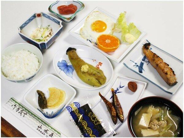 *【朝食全体例】身体に優しい和朝食をご用意いたします。
