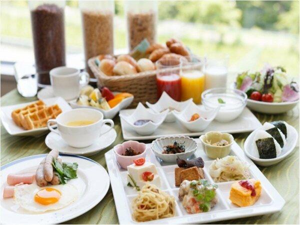 種類豊富な朝食バイキング イメージ