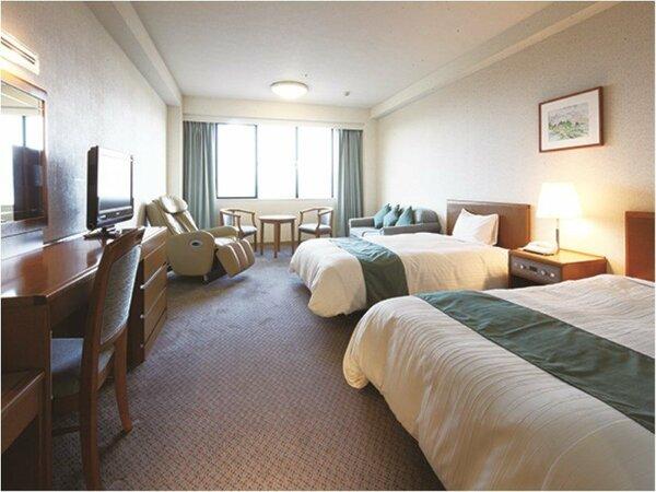 【ピースフルルーム】「眠り・やすらぐ・くつろぎ」をテーマにした特別室です。