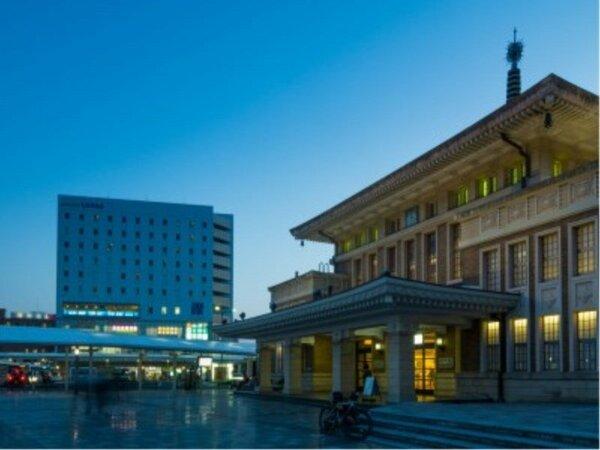 JR奈良駅直結のホテルです。
