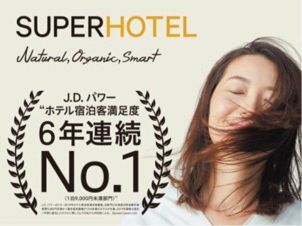 J.D.パワー2019年ホテル宿泊客満足度調査において6年連続第1位を頂きました♪
