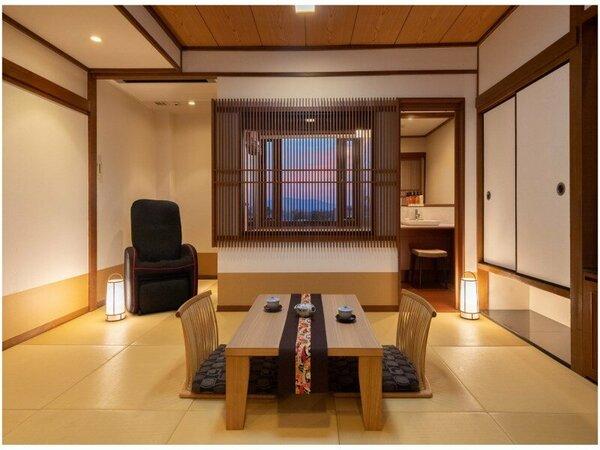 展望風呂和室(生駒山側10畳)
