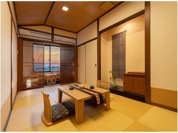 奈良町情緒和室8畳+3畳(一例)