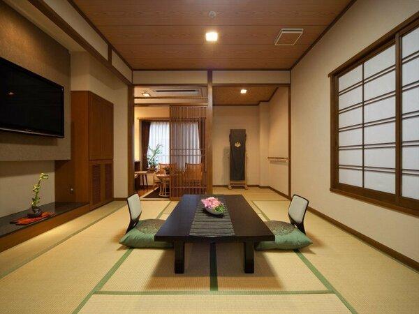 和室/ファミリー向き奈良町情緒和室(12畳+3畳)
