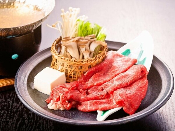 (一例)黒毛和牛すき鍋