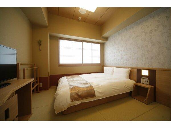 ダブル・16平米・サータ社製ベッド(1,400mm×1,950mm)