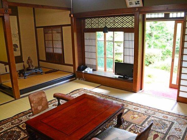 【おまかせ和室6畳】お部屋はおまかせとなり、バストイレなしのお部屋もございます。