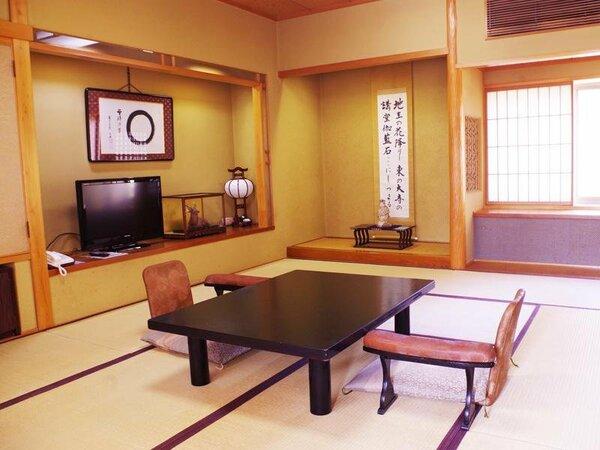 【和室16畳:2間続き2F】広々とした空間☆ご家族やグループ様におすすめ。