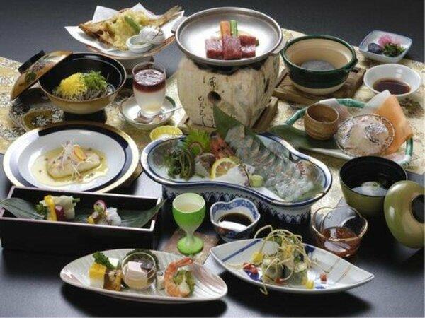鳥取県産食材をふんだんに使用した内容になります。