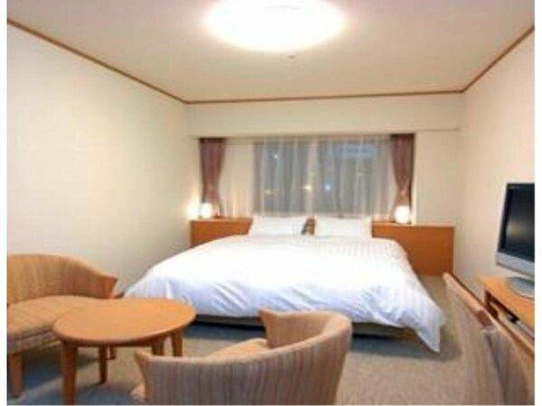 【客室】『クイーンルーム』 広さ22平米 ベッドサイズ横160cm×縦205cm(1台)