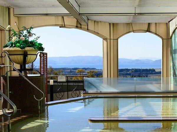 露天風呂からの眺望