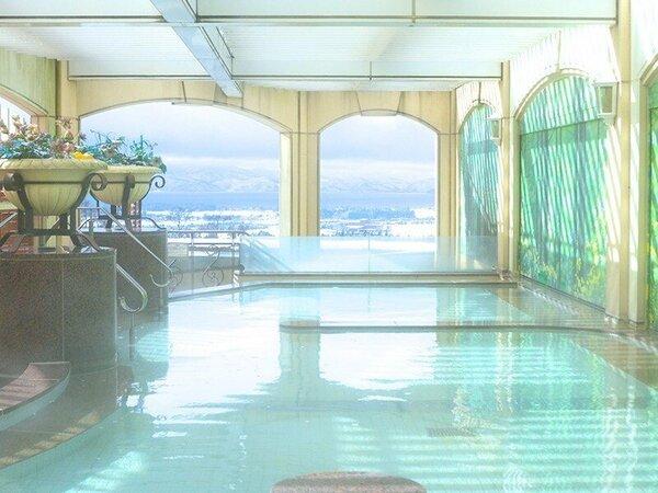 雪見展望露天風呂の例